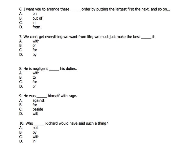 10 câu trắc nghiệm hé lộ khả năng sử dụng Giới từ tiếng Anh của bạn - 3