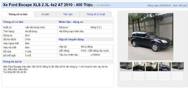 Nhiều mẫu xe đa dụng cũ hạ giá đồng loạt dưới 400 triệu đồng - 4