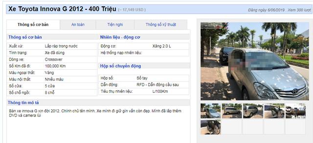 Nhiều mẫu xe đa dụng cũ hạ giá đồng loạt dưới 400 triệu đồng - 6