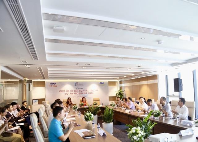 Xúc tiến gặp mặt đối tác chiến lược 3 miền, siêu dự án FLC Quảng Ngãi chính thức khởi động - 1