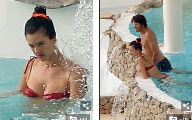 Alessandra Ambrosio tình tứ bên bạn trai Nicolo Oddi - 1