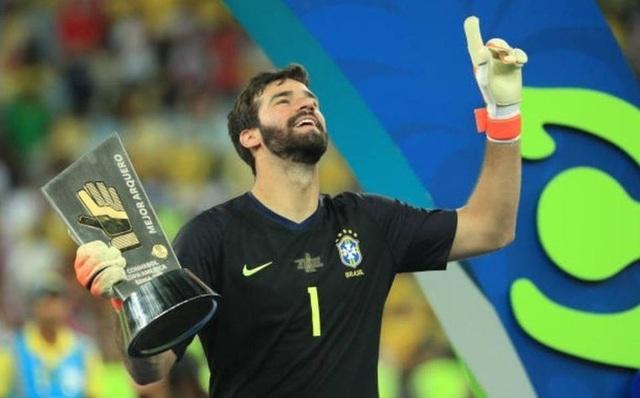 Đội hình tiêu biểu Copa America 2019: Brazil áp đảo - 1