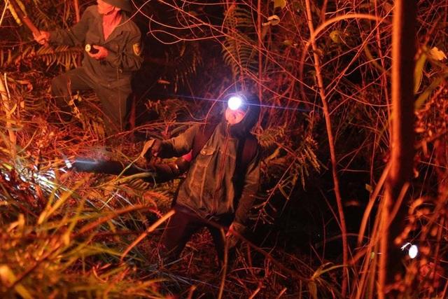 Hơn 500 người trắng đêm vật lộn với lửa rừng ngùn ngụt - 6