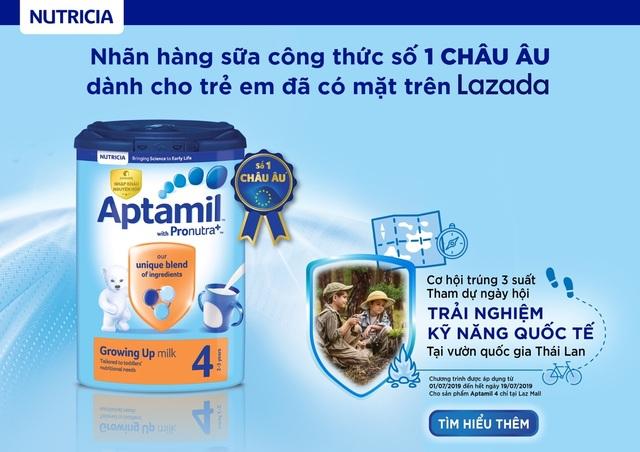 Sữa công thức Aptamil giúp tăng cường hệ miễn dịch, hỗ trợ trẻ phát triển toàn diện - 3