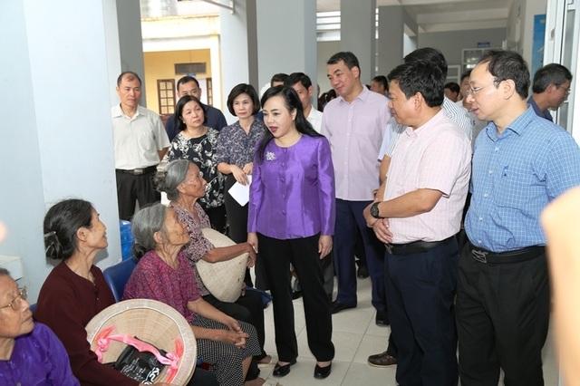 Đoàn công tác Bộ Y tế làm việc tại Hà Nam - 2