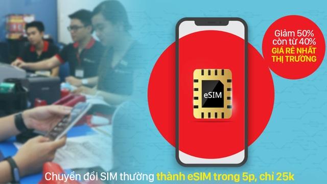 Chuyển SIM thường thành eSIM tại FPT Shop chỉ với 5 phút - 2