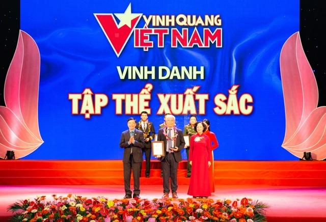 Tập đoàn TH được vinh danh tại chương trình Vinh quang Việt Nam 2019 - 1