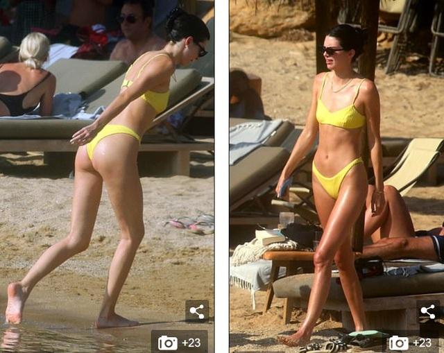 Mê mẩn dáng vóc nuột nà của Kendall Jenner - 5