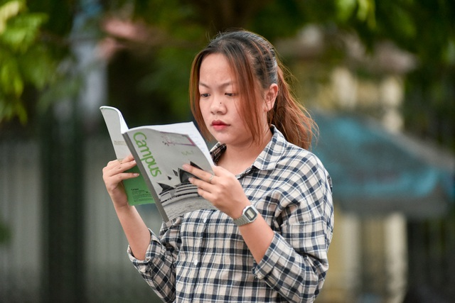 Thí sinh tự tin đi thi năng khiếu Ảnh báo chí - 8