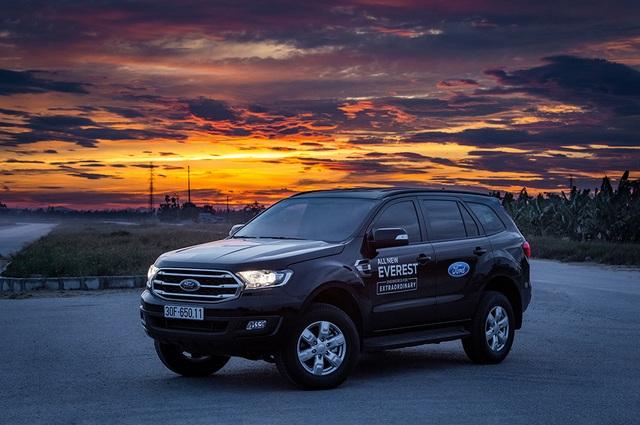 Thử thách chạy Ford Everest với một bình dầu: Hơn cả kỳ vọng! - 5