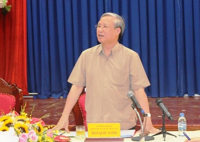 Thường trực Ban Bí thư Trần Quốc Vượng: Đặc biệt tăng cường công tác giám sát, kiểm tra trong Đảng - 1