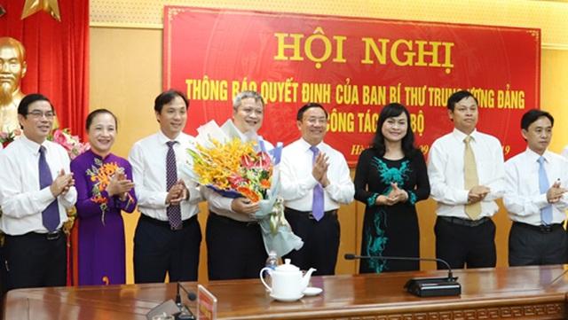 Ông Trần Tiến Hưng chính thức nhận nhiệm vụ Phó Bí thư Tỉnh ủy Hà Tĩnh - 1