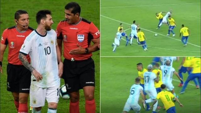 Bị Messi cáo buộc thiên vị Brazil, trọng tài nói gì? - 1