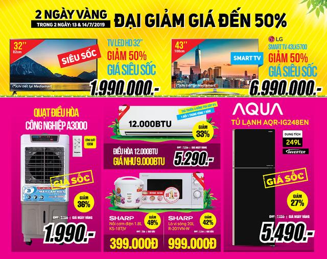 2 Ngày vàng đại giảm giá – TV LED 32'' giá chỉ 1,99 triệu - 2