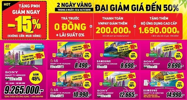 2 Ngày vàng đại giảm giá – TV LED 32'' giá chỉ 1,99 triệu - 3