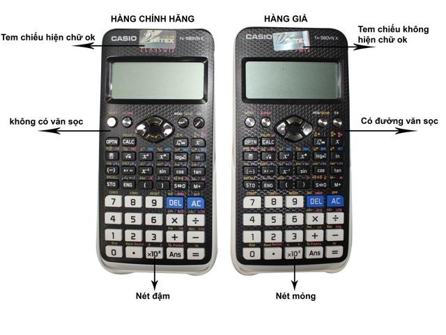 Những hệ lụy khôn lường khi dùng phải máy tính Casio giả, nhái - 3