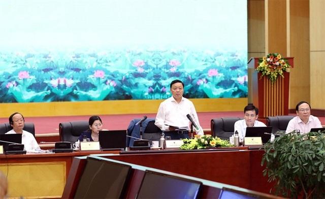 Bộ trưởng Trần Hồng Hà: Tháo gỡ bất cập, giải quyết tận gốc vấn đề rác thải - 1