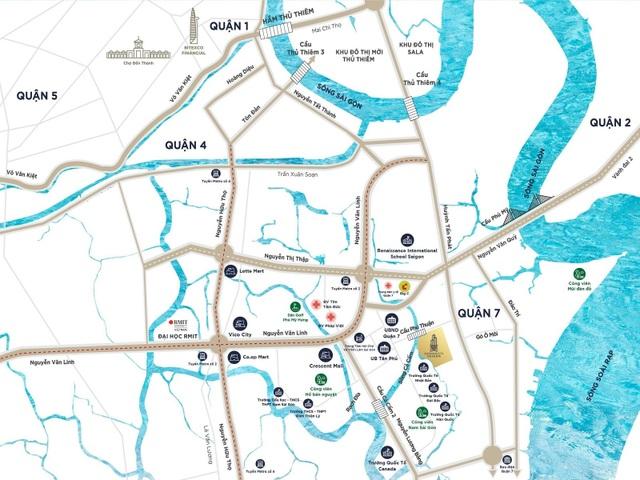Hạ tầng đô thị Nam Sài Gòn phát triển đồng bộ, dự án nào hưởng lợi? - 2