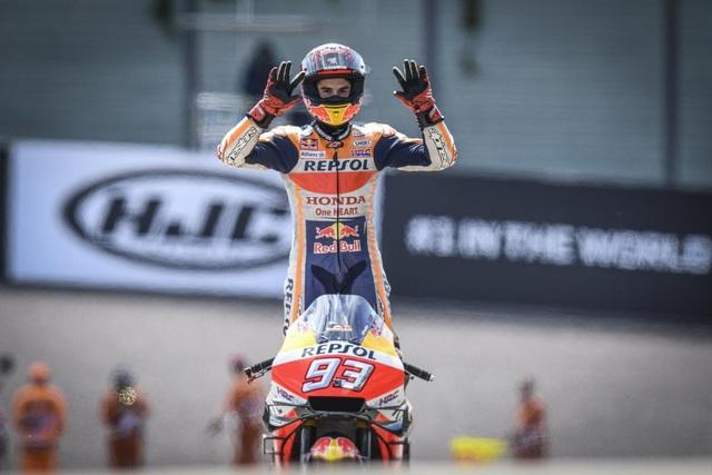 Chặng 9 MotoGP 2019: Marquez có chiến thắng thứ 10 tại Sachsenring - 1