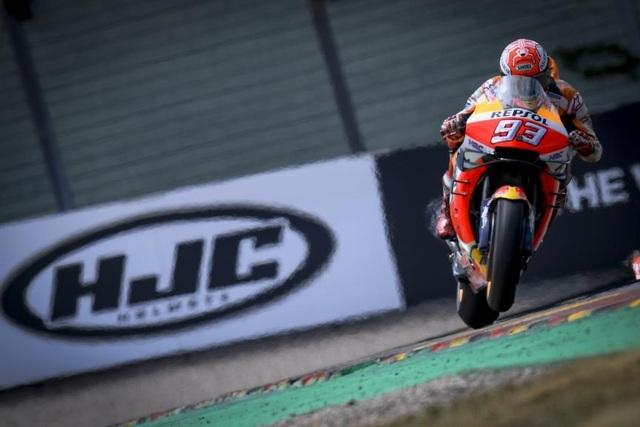 Chặng 9 MotoGP 2019: Marquez có chiến thắng thứ 10 tại Sachsenring - 2
