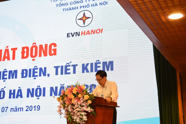 EVN HANOI phối hợp tổ chức Hội nghị tuyên truyền tiết kiệm điện, tiết kiệm năng lượng trên địa bàn TP. Hà Nội - 1