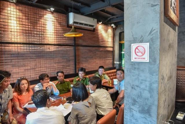 Hà Nội: Ra quân, kiểm tra việc thực hiện Luật Phòng, chống tác hại thuốc lá - 2