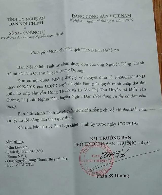 Vụ mua đất gần 30 năm bất ngờ bị tranh chấp: UBND tỉnh Nghệ An chỉ đạo xử lý  - 2