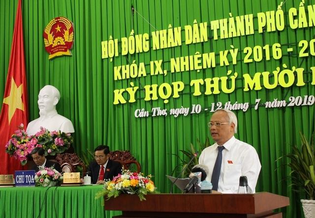Phó Chủ tịch Quốc hội Uông Chu Lưu dự khai mạc kỳ họp HĐND TP Cần Thơ - 1