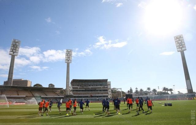 Các tân binh đắt giá tập luyện cùng Man Utd tại Australia - 1