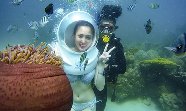 Đi bộ dưới đáy biển ngắm nhìn san hô - 2