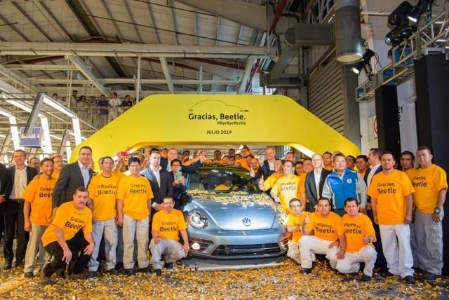Volkswagen chính thức dừng sản xuất Beetle - 1