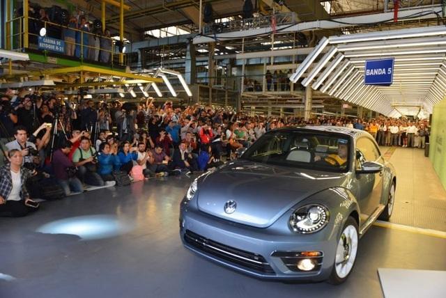 Volkswagen chính thức dừng sản xuất Beetle - 2