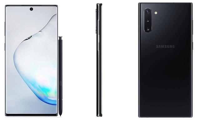 Bộ đôi Galaxy Note 10/10+ lộ ảnh chính thức - 3