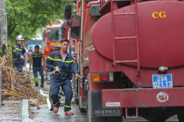 Hỏa hoạn tại chung cư tái định cư ở Hà Nội - 2