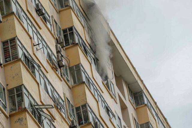 Hỏa hoạn tại chung cư tái định cư ở Hà Nội - 1