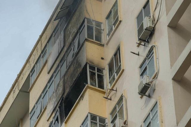 Hỏa hoạn tại chung cư tái định cư ở Hà Nội - 8