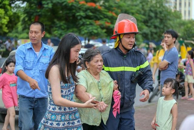 Hỏa hoạn tại chung cư tái định cư ở Hà Nội - 5