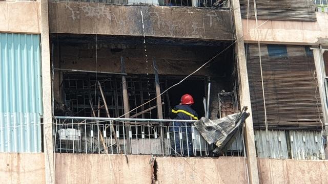 Cháy ký túc xá ở Sài Gòn