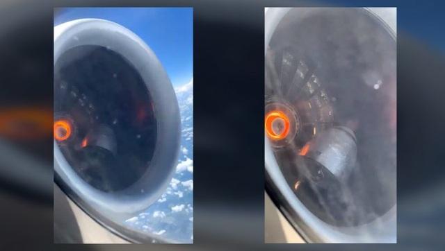 Sốc clip động cơ máy bay bị... rơi ra trong lúc đang bay ở độ cao hơn 3.000m