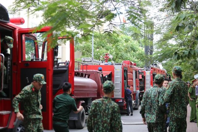 Hỏa hoạn tại chung cư tái định cư ở Hà Nội - 3