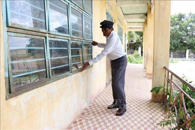 Già làng Nay Bim hiến đất xây dựng trường học vùng khó - 2