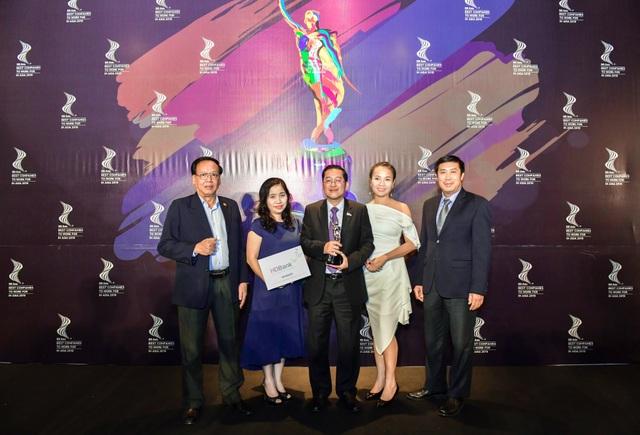 HDBank đạt giải thưởng nơi làm việc tốt nhất châu Á - 2