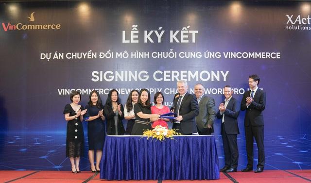 VinCommerce và Xact hợp tác xây dựng mạng lưới chuỗi cung ứng tiêu chuẩn thế giới - 1