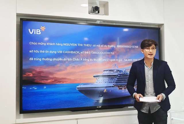 VIB công bố đợt 1 khách hàng mở thẻ tín dụng trúng cặp vé du lịch châu Á bằng du thuyền - 1