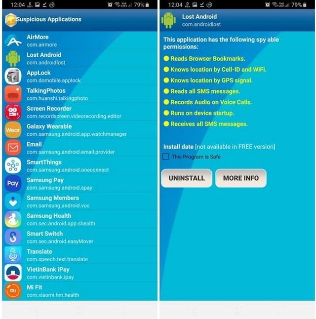 """Ứng dụng nhỏ gọn giúp smartphone """"miễn nhiễm"""" phần mềm gián điệp"""