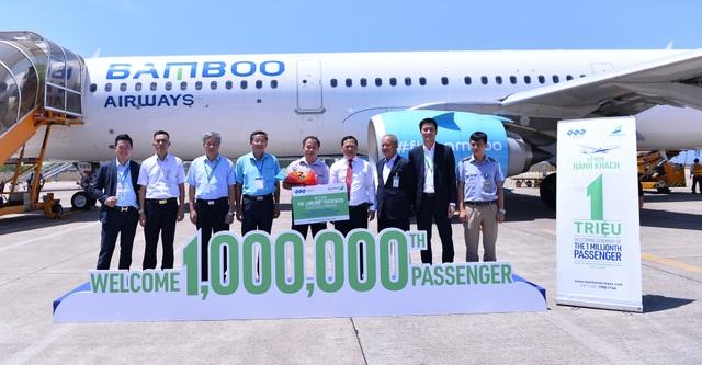Bamboo Airways đón hành khách thứ 1 triệu tại sân bay Phù Cát – Bình Định - 3