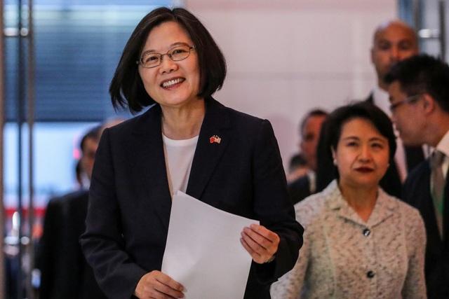 Lãnh đạo Đài Loan quá cảnh ở Mỹ 4 ngày - 1