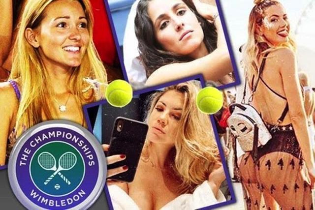 Ngắm những bóng hồng xinh đẹp, quyến rũ tại giải Wimbledon - 1