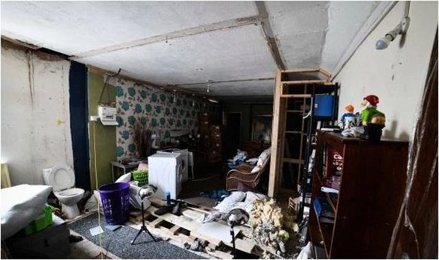 Rùng mình nghe âm thanh lạ từ tầng hầm, chủ nhà bỏ chạy không dám về nhà - 4