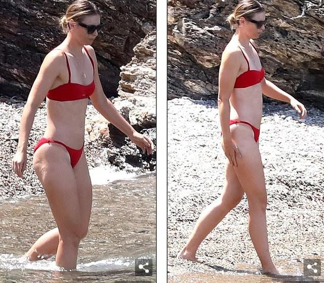 Maria Sharapova đẹp như người mẫu - 2